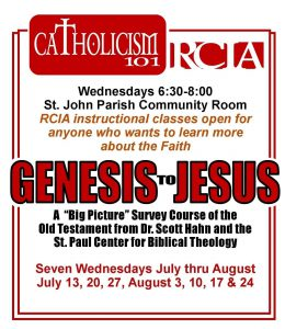 Catholicism101 Gen to Jesus